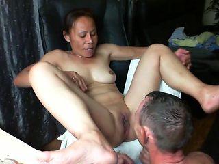 Horny homemade Amateur, Cunnilingus sex movie