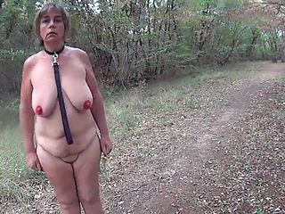 Naked Public Slut Walk