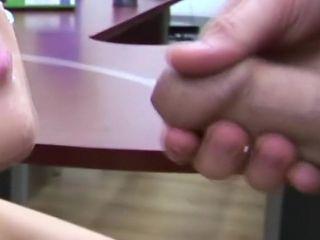 Slow Motion Close Up - Focus On Cumshots