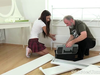 Lovely Nakita Star Fucked By An Old Fart