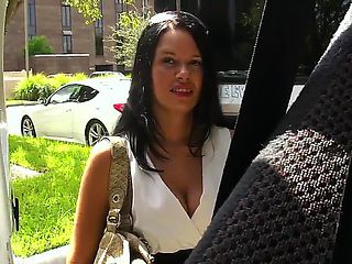 Gorgeous young babe Vera Vaughn is taking a bus ride that she will never forget. She is ridding t...