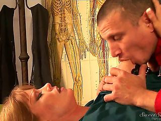 Darla Crane works as a teacher for a long time, but she has a hobby, she dances strip in the nigh...