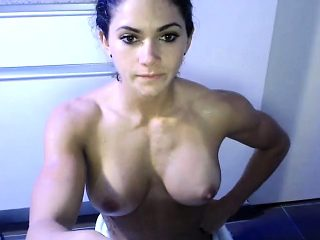 Busty Brunette Solo Untill Cousin Came In Unexpectedly