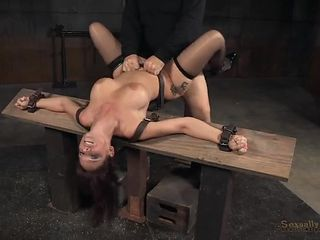 Milf sex slave fucked in every hole