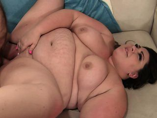 Tattooed fat girl wants cock and gets it shoved in her big cunt