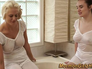 Mormon mother i'd like to fuck eating bawdy cleft