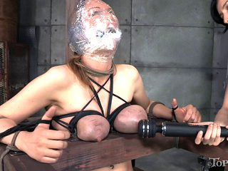 Gorgeous senorita is a subject of a hardcore BDSM adventure