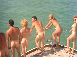classic nudist camp scene