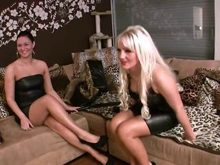 Sadistic Polish femdom whipping and spittng