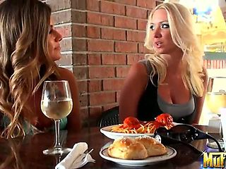 Gorgeous Molly Cavalli and Nikkie Johnson have decided to learn Italian together. They practice b...