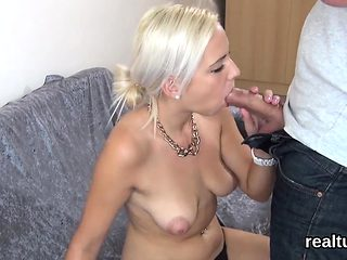 Gorgeous czech cutie was tempted in the supermarket and rode