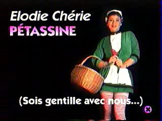 petassine elodie cherie french