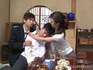 Sayuri Ikuina mature Japanese babe gets pounded
