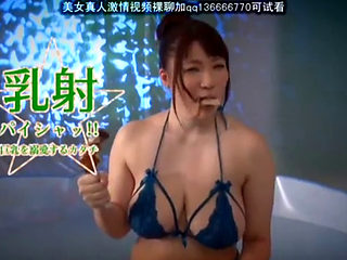 Bukkake Asian Getting Drenched In Hot Cum