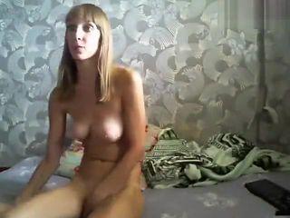 Russian amateur Tregandes94 fingering her pussy