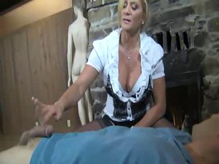 Unmerciful Step Mommy Femdom Cook Jerking