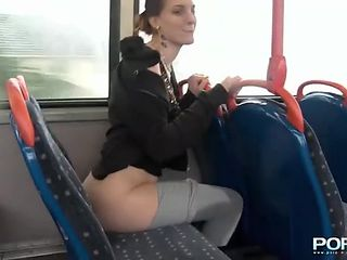 Flashing and peeing in public turns this hottie on