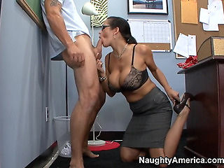 Carmella Bing & Alan Stafford in My 1St Sex Teacher