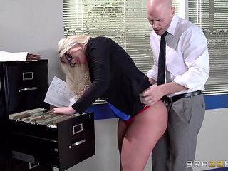 johnny bangs julie in office