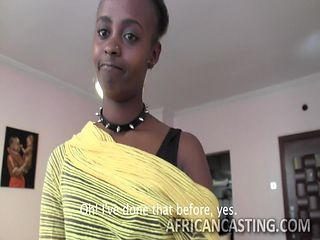 this african babe is ready to do anything to get job