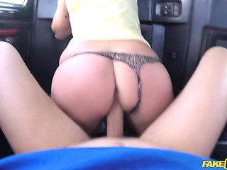MILF Rides Czech Cock For Free Ride - FakeTaxi