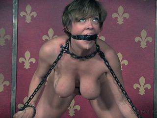 Busty stunner Dee Williams likes being restrained by her horny man