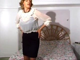 Uma in the bedroom
