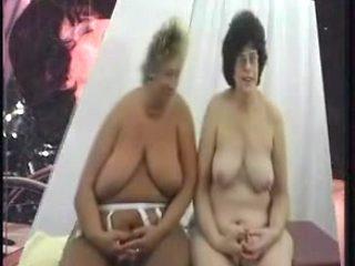 Kinky fat grannies boned in all holes