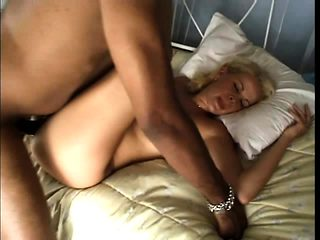 French amateur first interracial threesome