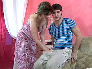 Russian Anal Cougar Fucked Hard