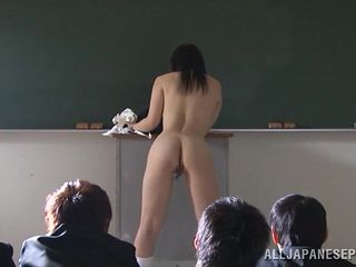 schoolgirl strips for the whole class