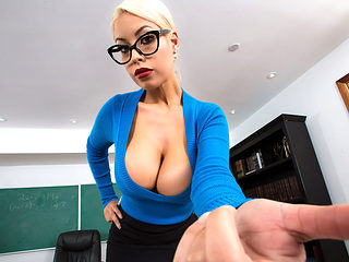 Bridgette B & Alex D in Teachers Tits Are Distracting - Brazzers