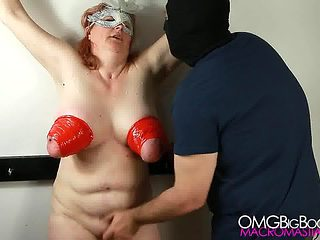 Busty Linda Bound and Climaxed