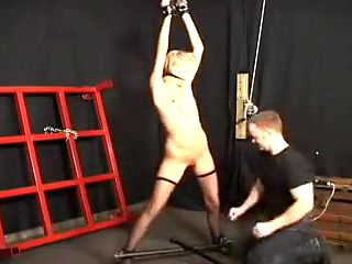 Fun with blond slave