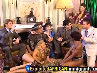African girl fisted by white girl