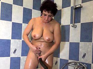 Filthy grannies love lesbian sex
