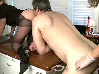 office pervy gets pegged
