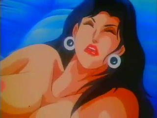 Cartoon babe dreams of passionate hardcore sex