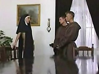 Nuns Double Fuck