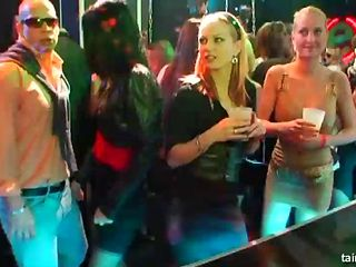 Crazy party with the drunk ladies who would like to get banged