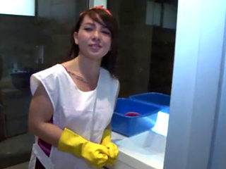 Colombian Cleaning Lady Gets Fucked