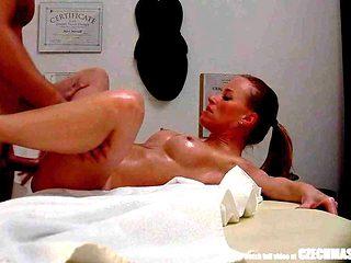 Dirty Masseur Fucks SEXY Busty Girl during Massage