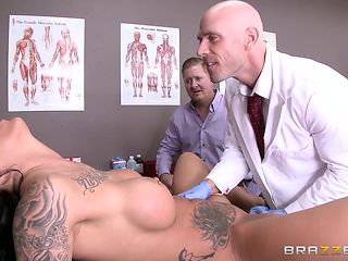 slutty sensual patient gets fucked