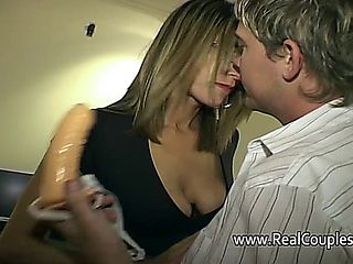 Wife Moans Loudly While Receiving Anal Sex From Hubby