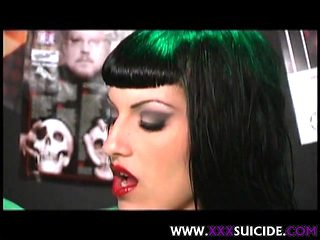 XXXSuicide girls pith piercings and tattoos Goth and Emo