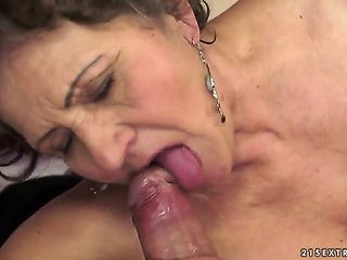 Kata is the most insatiable granny you can imagine. You can check out this hairy granny in action...