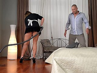 Laura Orsolya - Maid For Titty Fuck
