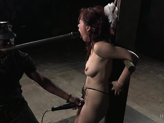 hot naked slave gets awfully used