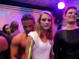Nasty cuties get entirely foolish and nude at hardcore party