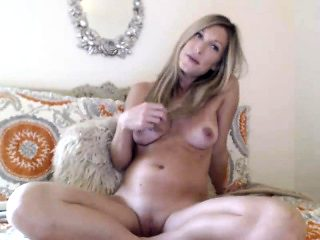 Sex games with perfect blonde in lingerie